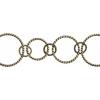 Chain Round 31mm Antique Brass